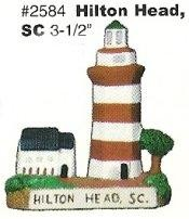 Hilton Head Lighthouse 3.5""