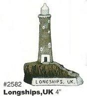 Longships Lighthouse 4""