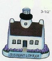"""Old Point Lighthouse 3.5""""t"""