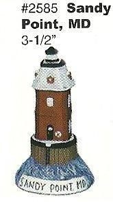 "Sandy Point Lighthouse 3.5"""