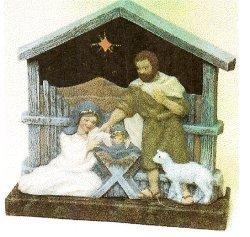 "Nativity LiteUp 12""x11.5"""
