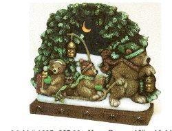 """Christmas Bears LiteUp 13x10.5"""""""