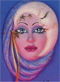 "Moon Mask 8""t"