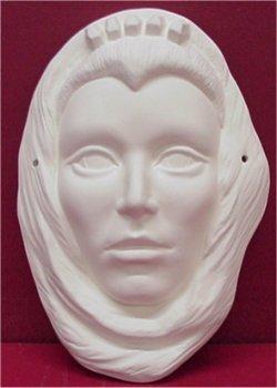 """Queen Mask 9.5""""t"""