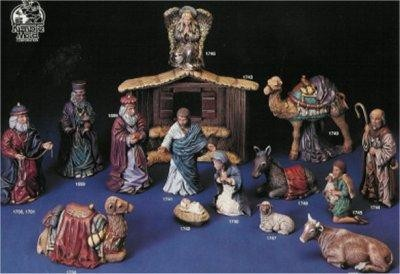 """Kimple's  Large Nativity Set   Stable 14""""Tall"""