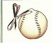 "Baseball Ornament 2""t"
