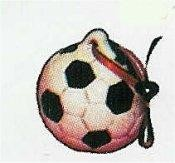 "Soccer Ball Ornament 2""T"