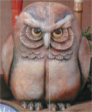 """Owl  Watcher 12.25x10.5"""""""