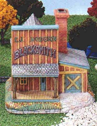 "CrystalCreek  Blacksmith Shop 6""T"