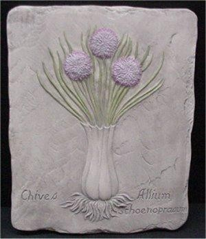 Chives Plaque 8.75 x 7""