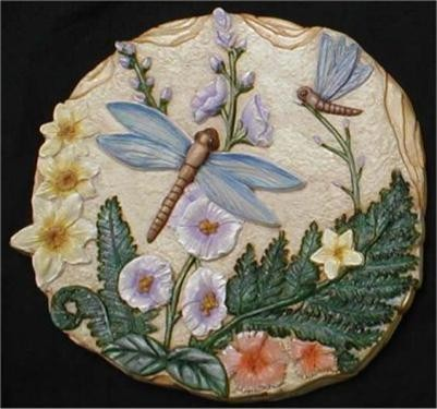 Dragonfly Plaque/Slab 11""
