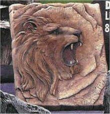 Lion Plaque 8x9: