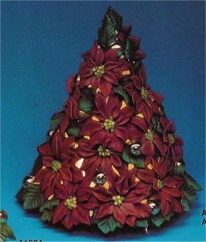 """Poinsettia Tree 14.5""""T"""