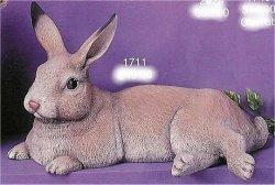 """Lg. Lying Down Rabbit 13"""" L"""