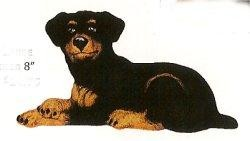 """2243 Rottweiler 8"""""""