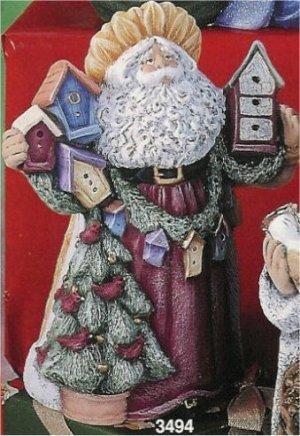 "BirdHouse Santa 10""t"