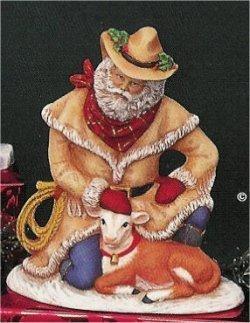 """PV Cowboy Santa 7.25""""T"""