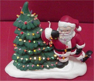 """Santa Tangled 11""""T"""