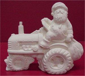 "Santa on Tractor 5""T"