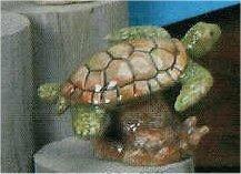 """Sea Turtle 4 L x 2.75""""H"""
