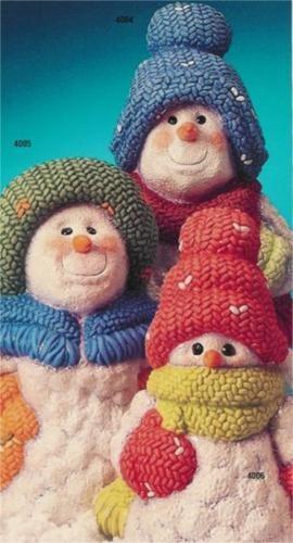 "Snowman Trio 12"" Set"