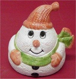 Snowman Treat Box 4""