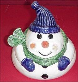 Snowman Treat Box 6.5""