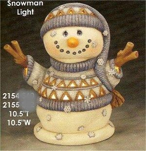 "ClayMagic Snowman 10.5""t"