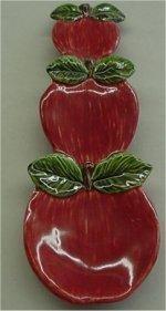 "Apple Spoonrest 8.5"""