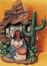 """Pueblo/Cliff & Maiden 9""""t"""