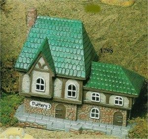 "VIP Village Pottery Shop 8.5x4x7.75"""
