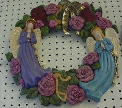 "Wreath, Angel 14""D"