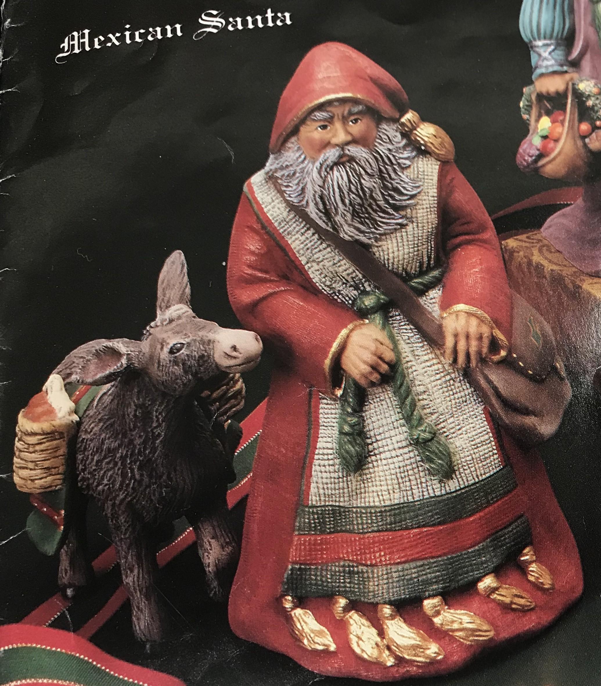 """Mexican Santa & Donkey 10""""T"""