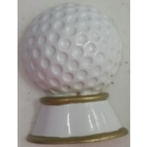 "KP Golf Ball Orn. 2.5""x1.5"""
