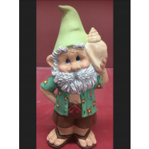 "Snerdly Shell Seeker Gnome 10""T"