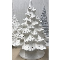 "Christmas Evergreen Tree 15.5""T"