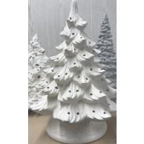 "Christmas Evergreen Tree 15.5""T"