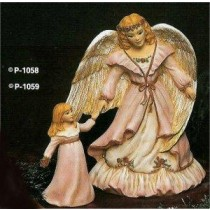 "Angel w/ Girl 9""T"