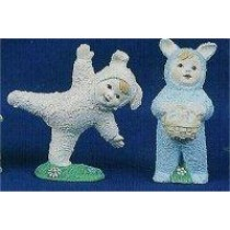 "Bunny Babies Set 3.25""T"