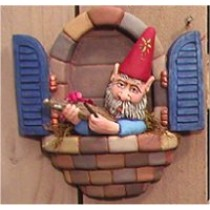 "Window Gnome Fiddle 8.5""T"