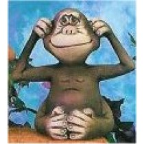 """CPI Monkey Hear 5.5""""T"""
