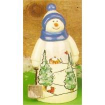 "CPI Pottery Snowman 9""Tall"