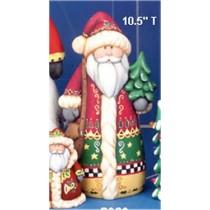"""CPI Santa w/Tree 10.5""""t"""
