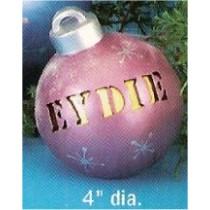 "CPI Sm. Ornament 4""dia"