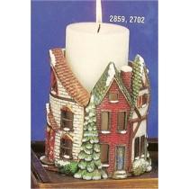 Village Candle Holder