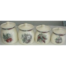 Canisters Country Set 8x7""