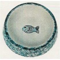 """Cat Dish w/Fish 6""""D"""