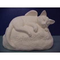 "Cat Stone 7""x9.5"""