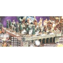 Middle Earth Chess Set Brd & Walls included
