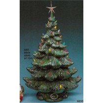 "Christmas Tree 22""T/4 sections"